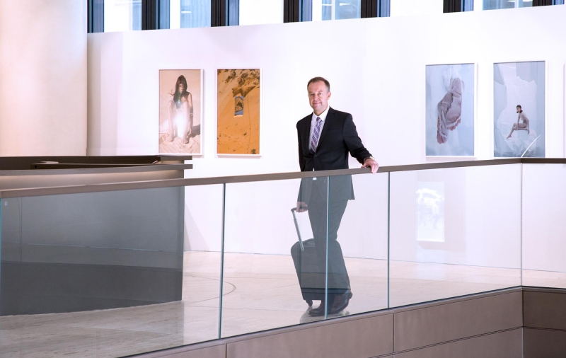 Lars Culmann, Foto-Ausstellung, Level Two (Bild Bernd Wiesen)