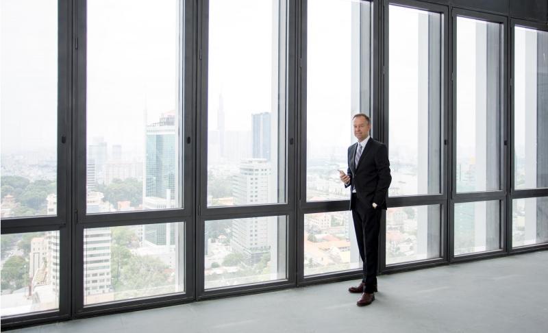 """Lars Culmann, """"Top of the building"""" (Bild Bernd Wiesen)"""