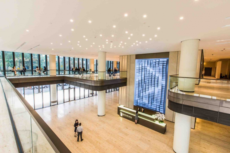 Lobby & Empfang (Bild Deutsches Haus)