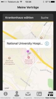 Krankenhaus Übersicht