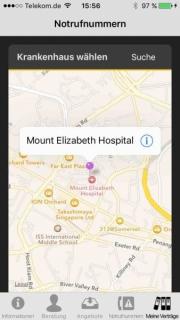 Ein Krankenhaus finden