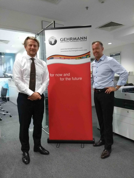 Karsten Gehrmann, Gehrmann Solutions Insurance Brokers + Lars Culmann, aditus - the local touch when globalizing