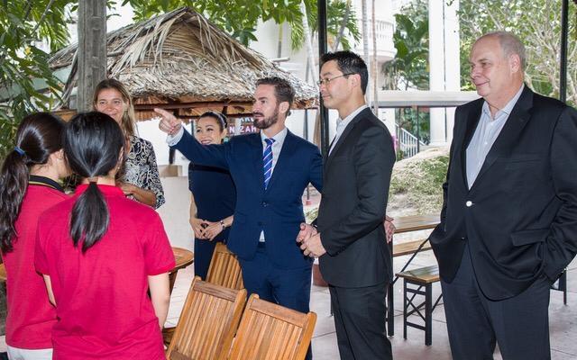 Besuch Philipp Rösler International German School Ho Chi Minh City (IGS)