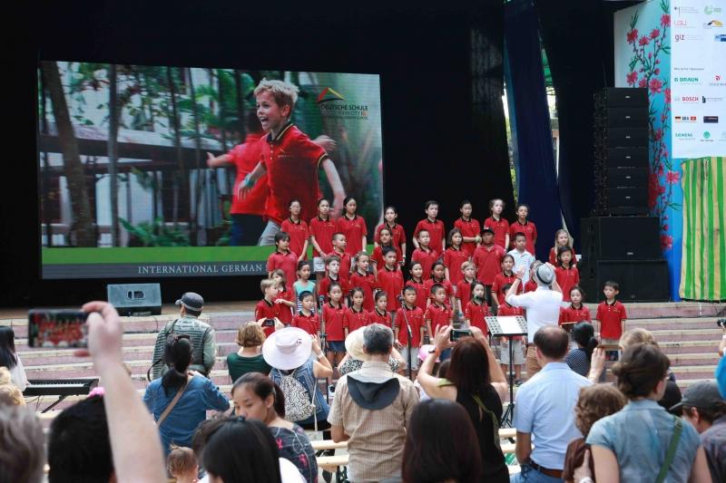 Chorauftritt Deutschlandtag