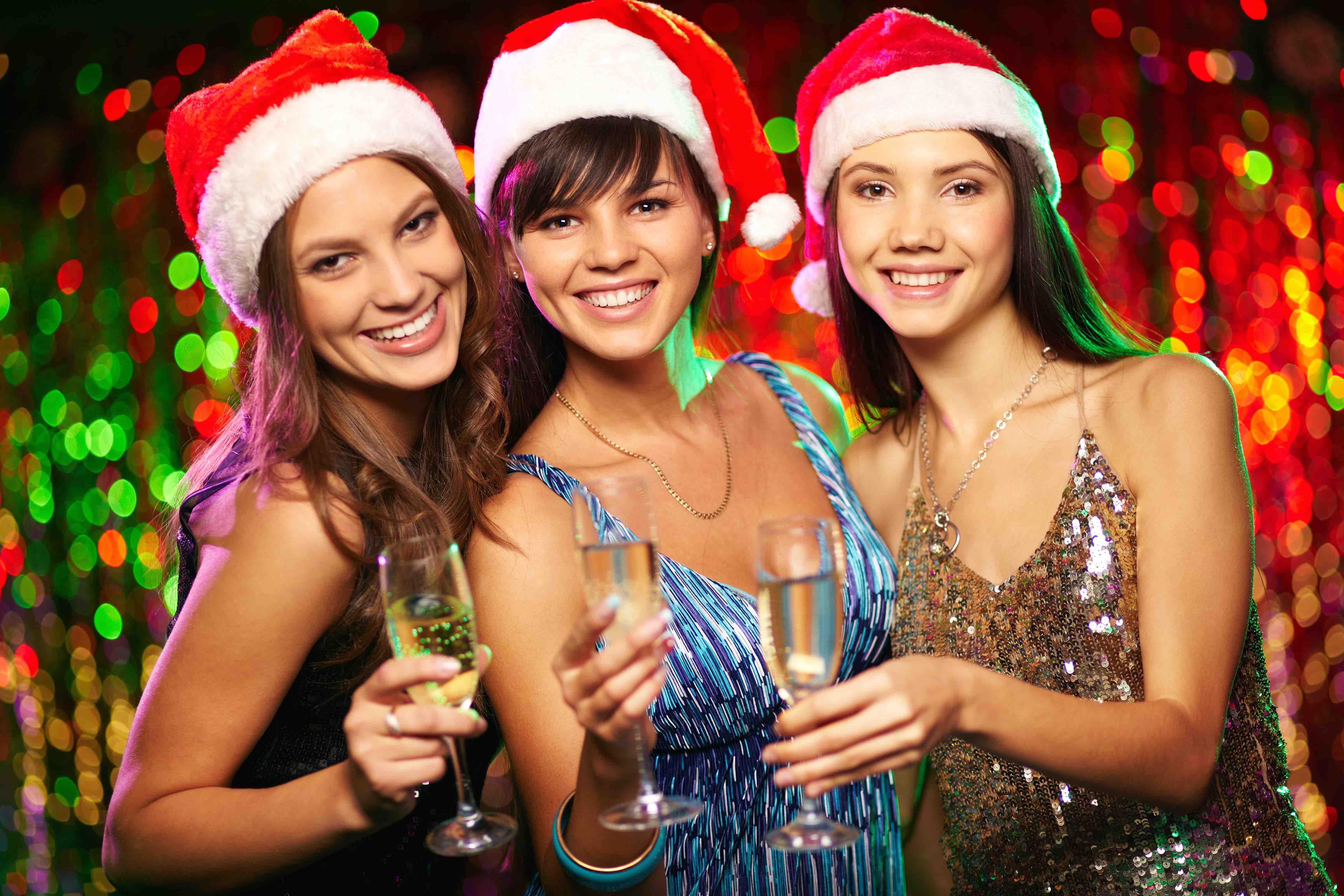 Weihnachtsfeiern in Singapur :-)