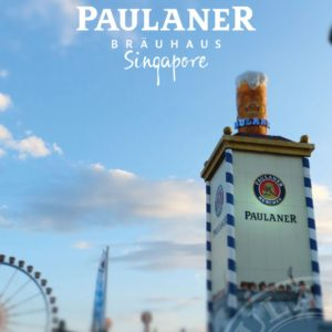 Oktoberfest im PAULANER BRÄUHAUS Singapur!