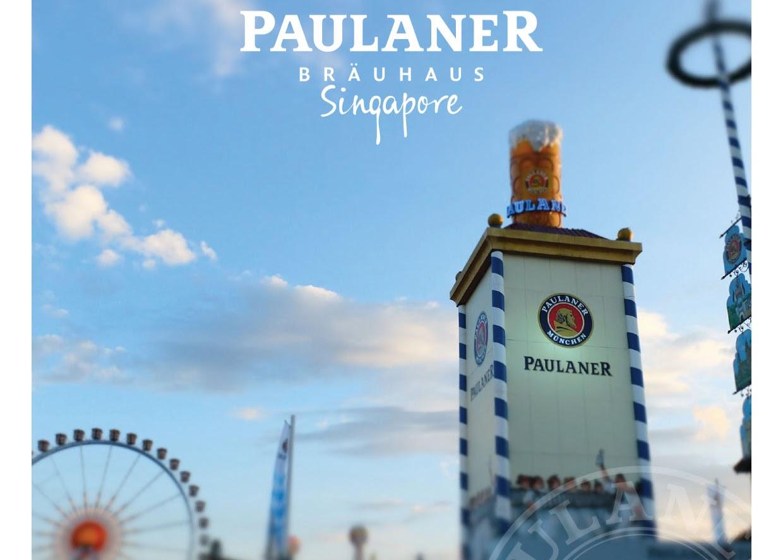 Oktoberfest im Paulaner Bräuhaus Singapore!