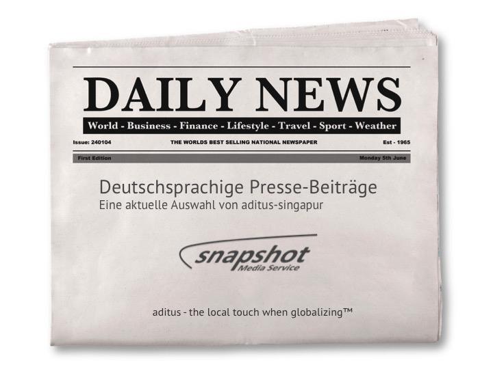 Heute Neu – Medienecho Singapur
