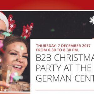 Christmas B2B im German Centre