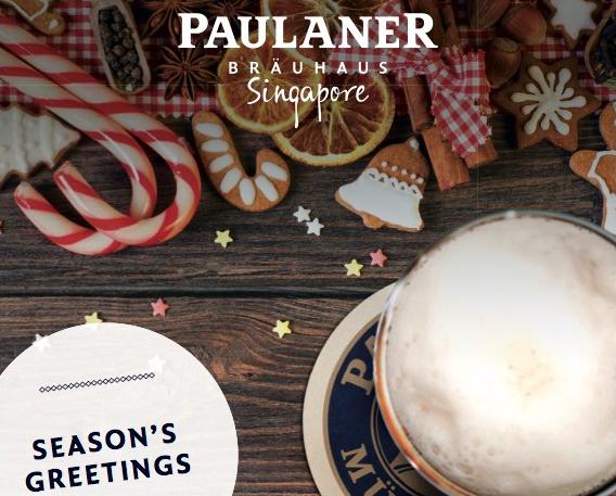 Christmas @ Paulaner Bräuhaus Singapore