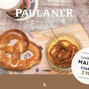 Der Mai ist gekommen – feiern Sie im Paulaner Bräuhaus Singapore!