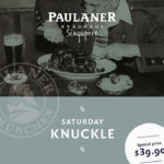 Saturday Knuckle im Paulaner Bräuhaus Singapore!
