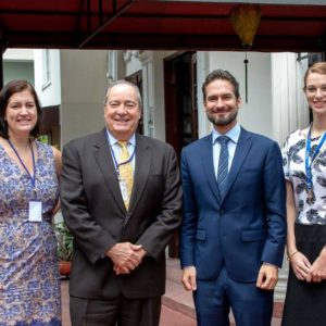 US-Besuch in der International German School (IGS)
