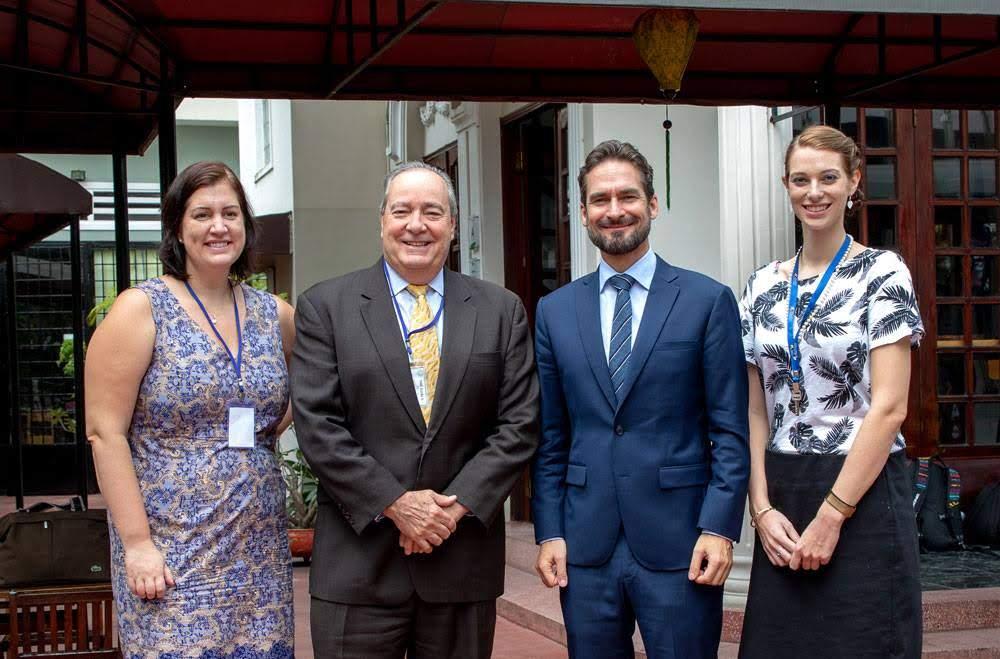 US-Besuch in der International German School (IGS)