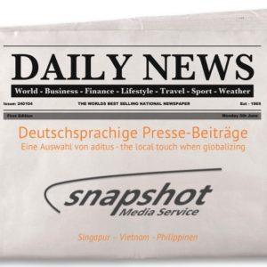 Jetzt Neu – Medienecho, deutschsprachige Pressebeiträge über Südostasien!