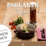 Business Lunch @ Paulaner Bräuhaus Singapore!