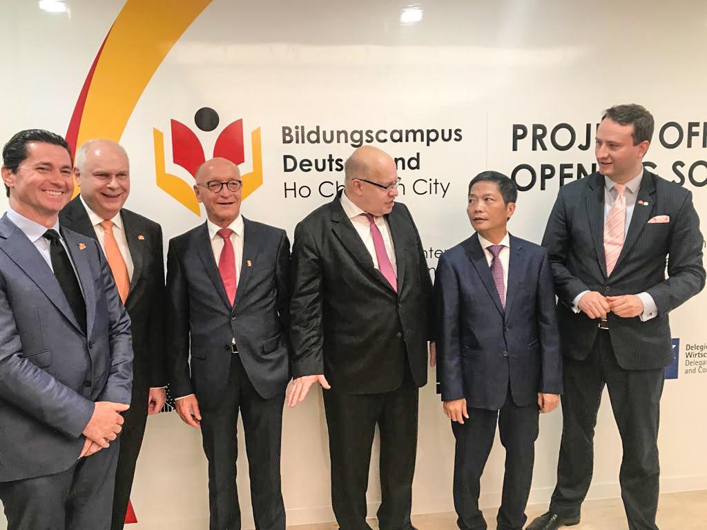 Wirtschaftsminister Peter Altmaier besucht das Deutsche Haus Ho Chi Minh City