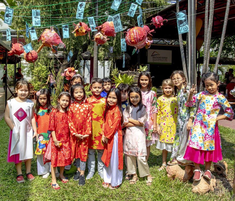 TET-Feierlichkeiten der International German School Ho Chi Minh City